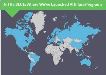 Countries where Schaaf-PartnerCentric has launched affiliate programs